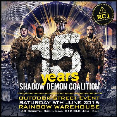 Outdoor 15 Years Of Shadow Demon Coalition Part 4 - Birmingham at The ...