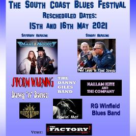 CANCELLED - The South Coast Blues Festival