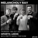 Melancholy Ray with support from Pretty Mafia and The Flow Event Title Pic