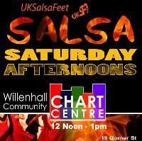 Saturday salsa class