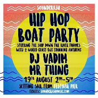Hip Hop Boat Party w/ DJ Vadim