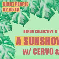 Heron Collective x Banana Hill Present: Cervo & Tim Garcia