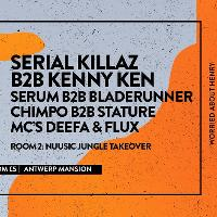 Serial Killaz b2b Kenny Ken, Serum b2b Bladerunner + More