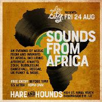 Shadow City Presents Sounds From Africa - Free Entry
