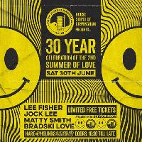 30 Year Celebration of the 2nd Summer of Love - Free Entry