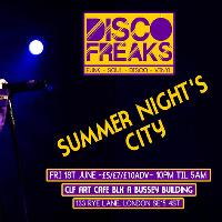 Disco Freaks present Summer Night