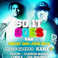 Soit Goes - Friday 26th June - Cause & Affect // Marc Spence