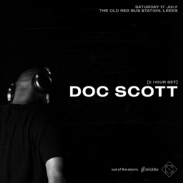 Doc Scott Tickets | The Old Red Bus Station Leeds | Sat 17th July 2021 Lineup