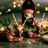 Baileys Chocolate Reindeer are at The Coal Shed for Christmas