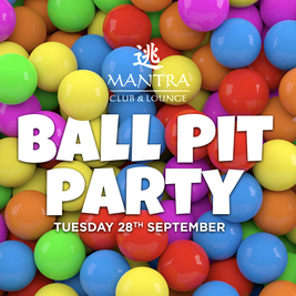 Ball Pit Party - Norwich Freshers Fest 2021