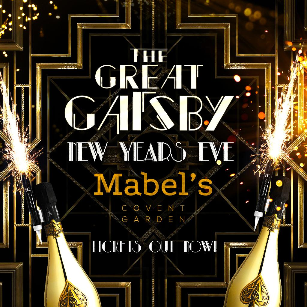 The Great Gatsby: The Great Gatsby New Years Eve London Tickets