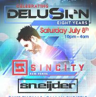 Delusion 8th Birthday ft Sneijder & more / Con7rol Room 2