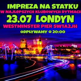 Impreza na Statku w Londynie na Legalu :)