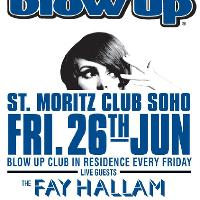 BLOW UP feat. THE FAY HALLAM TRINITY live + BLOW UP DJs