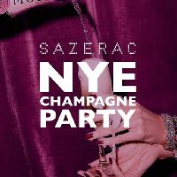 New Years Eve Champagne Party at Sazerac