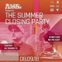 The Audio Venom Summer Closing Party