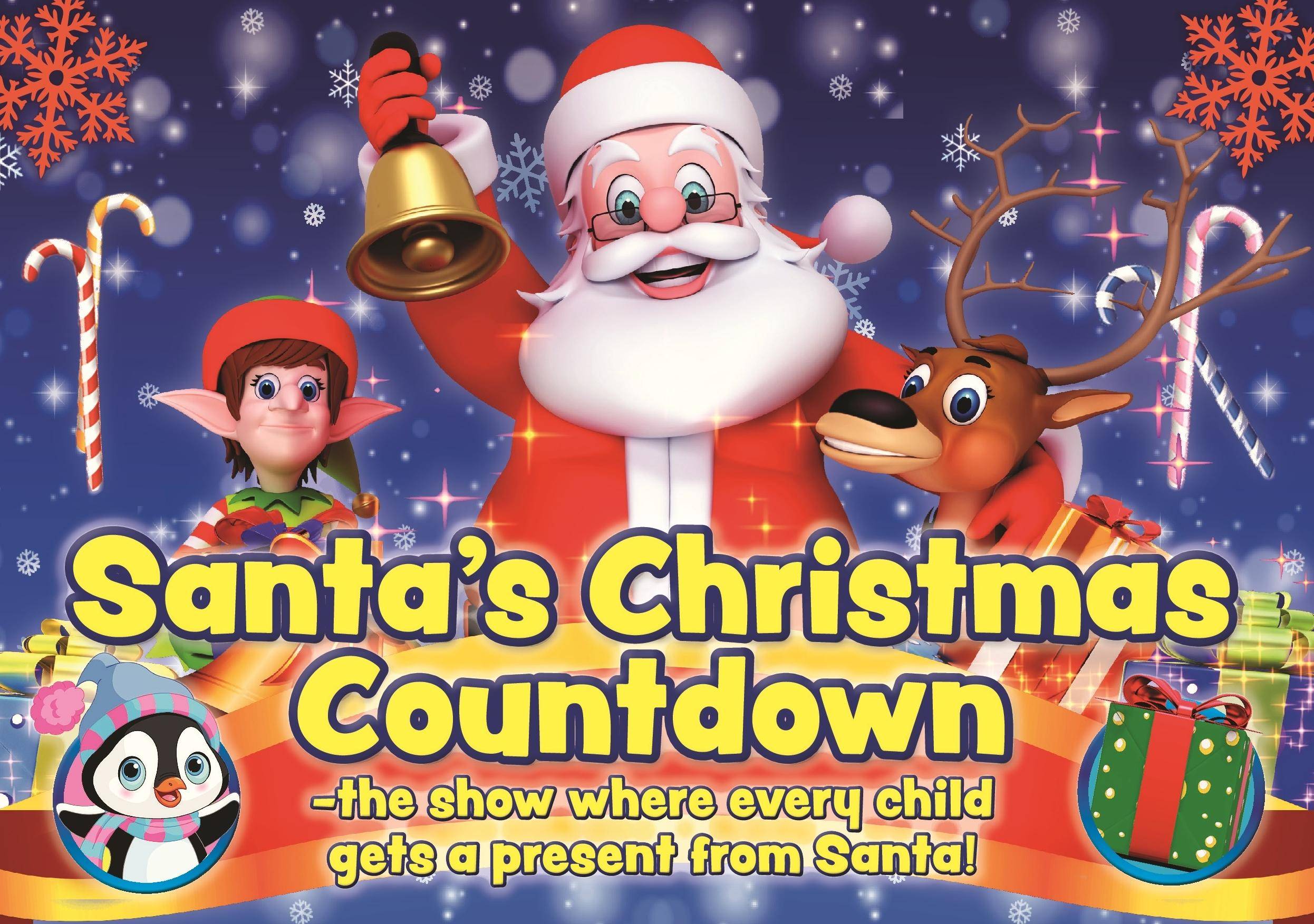 Countdown To Christmas 2019.Santa S Christmas Countdown Bacon Theatre Cheltenham Mon