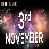 Kenton Fireworks Display, Saturday 3rd November 2018
