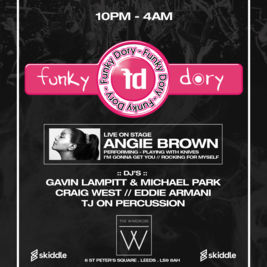 Funky Dory 15/16 Year Anniversary - With ANGIE BROWN LIVE P.A.