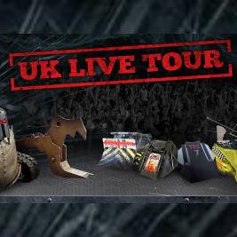 Extreme Robots UK Live Tour