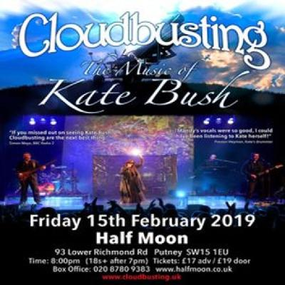 Cloudbusting - The Music Of Kate Bush Live | The Half Moon