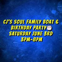 Cjs Soul Family Boat 6 Birthday Party