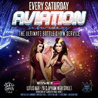 Aviation Saturdays - Carnival Afterparty Bank Holiday Weekend