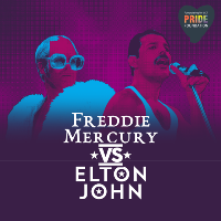 Freddie vs Elton - Supporting LCR Pride