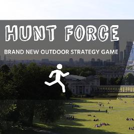 Hunt Force - outdoor tag / strategy game