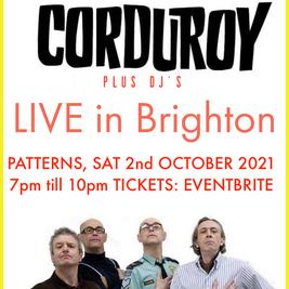 CORDUROY - Acid Jazz Legends Live in BRIGHTON + DJs