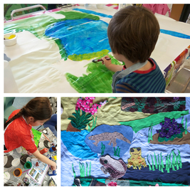 Drop-in Arts & Crafts Mapestry with Froglife