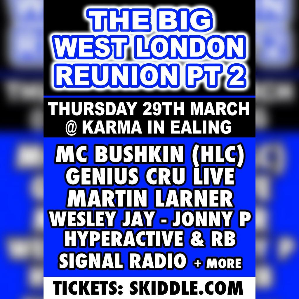 The Big West London Reunion