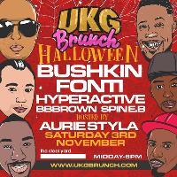 UKG Brunch Halloween with Bushkin, Fonti, Hyperactive & More