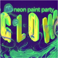 Glow Neon Paint Opening Party