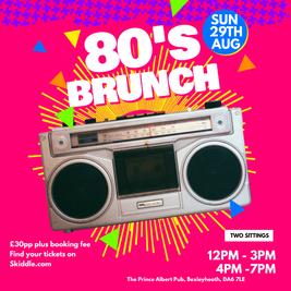 80's Brunch
