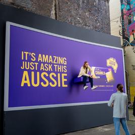 Cadbury Caramilk Ask An Aussie Pop-Up