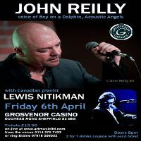 John Reilly in Concert with Lewis Nitikman - the Birthday Boys