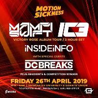 Motion Sickness: Mampi Swift & IC3, InsideInfo & DC Breaks