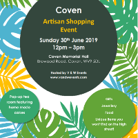 Coven Artisan Shopping Event