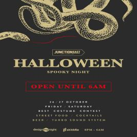 Spooky Halloween Tickets | Junction East  London  | Fri 25th October 2019 Lineup