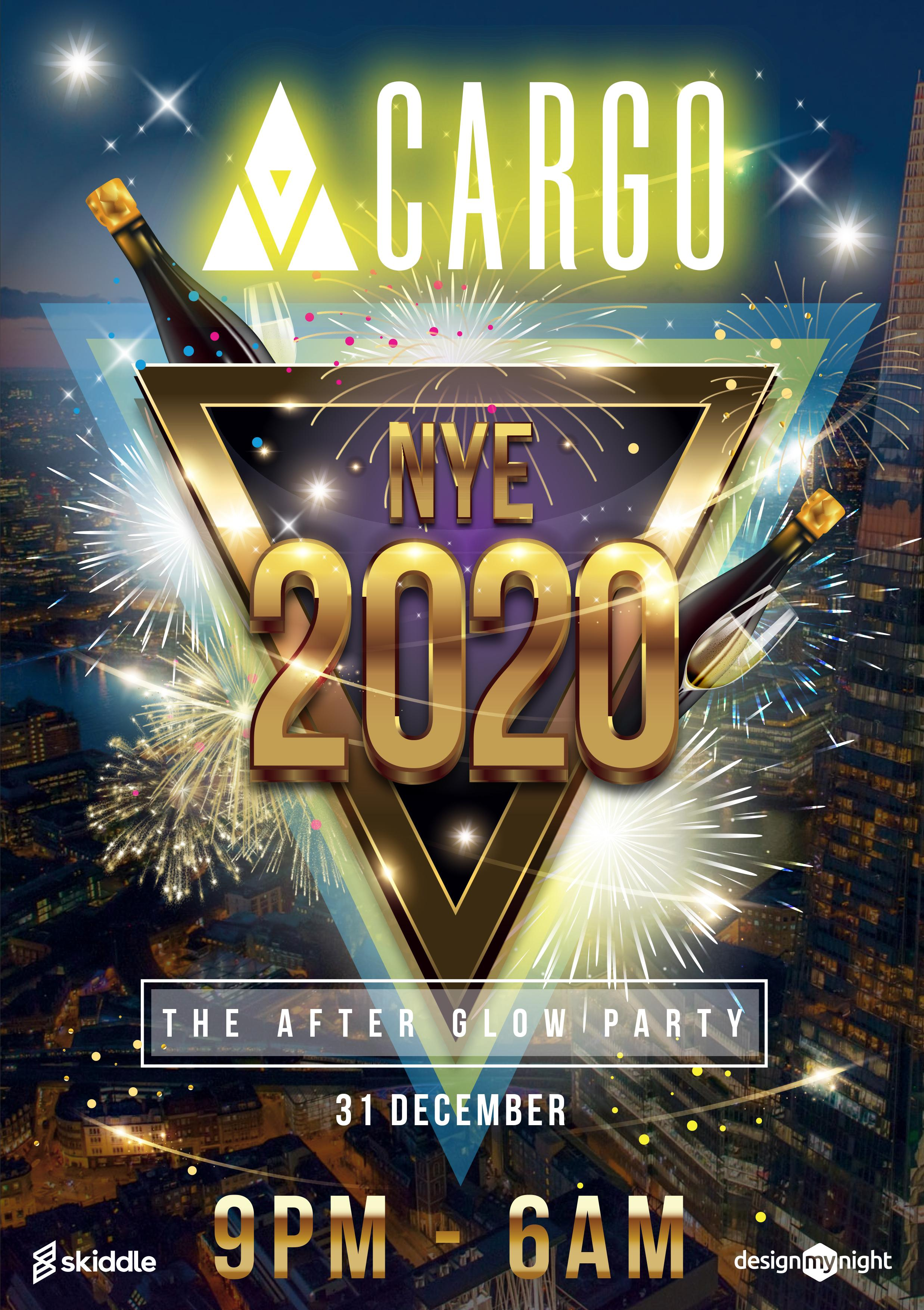 new years eve  after glow party tickets