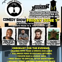Funny Bizznez Comedy Show Southampton! Friday June 1st