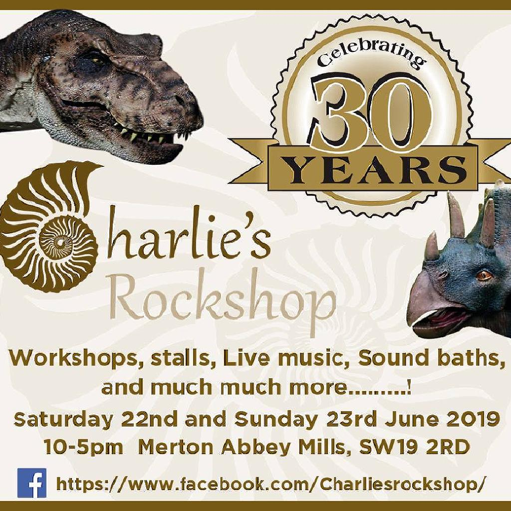 Charlie's Rockshop: Celebrating 30 years! Tickets | Merton Abbey