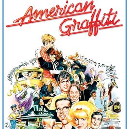 Classic Car Event with American Graffiti