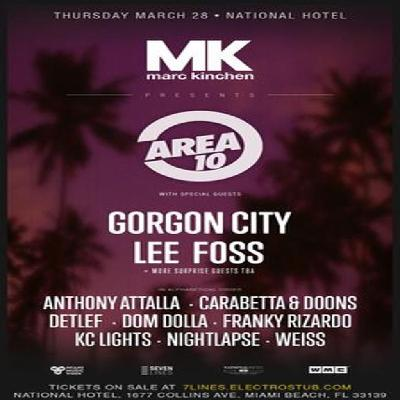 MK presents The Area 10 Pool Party | National Hotel FL Miami
