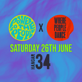 Power To The People Records x Where People Dance