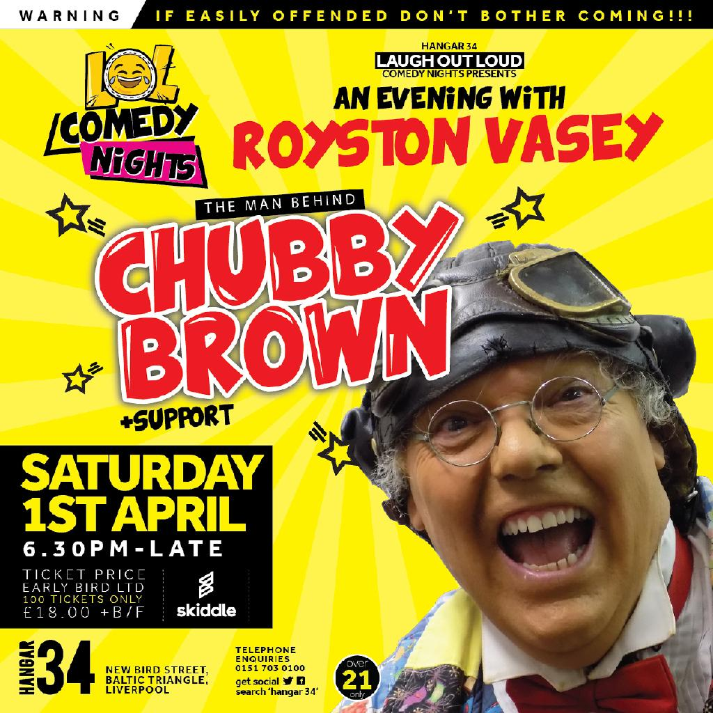 Vasey chubby brown apologise, but