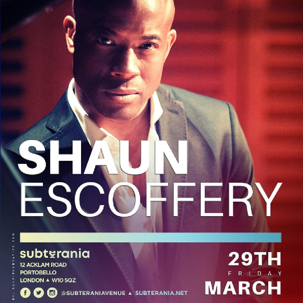 Shaun Escoffery Live