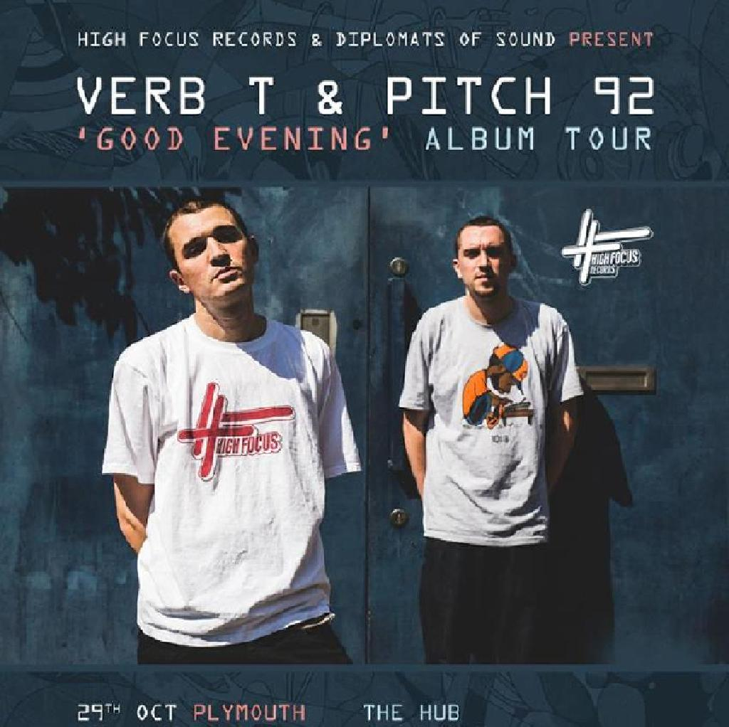 Verb T & Pitch 92 live