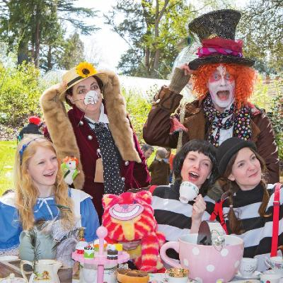 Mad Hatters Tea Party The Swiss Garden Biggleswade Sun 29th